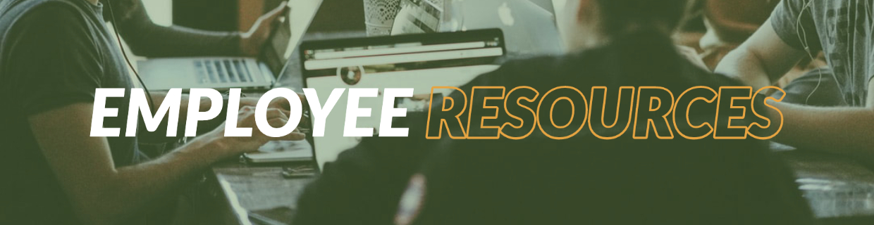 Employee Resources image banner