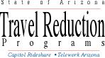 State of Arizona Travel Reduction Programs Logo